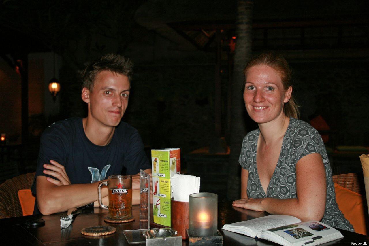 Dinner in Ubud