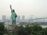 The statue of liberty in Japan
