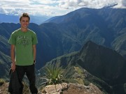 On top of Machu Picchu (the mountain)