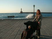More Chania harbour