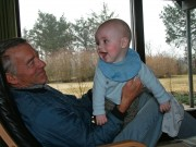 Linus and his grandfather