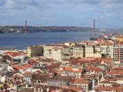 Lisbon seen from Castelo de São Jorge