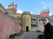Anders at the Pena National Palace
