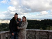 Anders, Linus and Lisa at the Pena National Palace