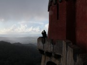 Anders and Linus at the Pena National Palace